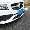 Couverture des cadres de pare-chocs avant et inférieur autocollants décoratifs accessoires automobiles pour Mercedes Benz classe CLA C117