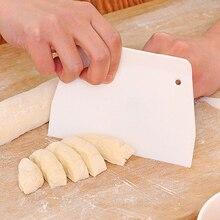 Пластиковый резак для теста, пиццы, Кондитерская большая ломтерезка, лезвие для торта, хлеба, пастости, скребок, лезвие, кухонный подарок, 9.5x13.5cm