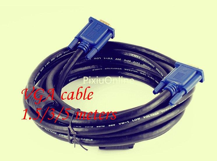 1 Uds. De cable VGA YT376, línea de visualización de vídeo de...