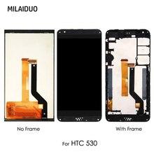 LCD Display Für HTC Desire 530 D530 Touchscreen Digitizer Montage Ersatz Reparatur Schwarz Keine/mit Rahmen 5,0 100% getestet