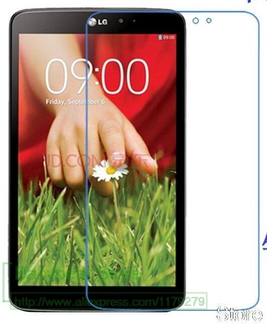 Película protectora de pantalla brillante Ultra claro/mate HD LCD frontal para LG G Tablet 8,3 V500 8,3 pulgadas