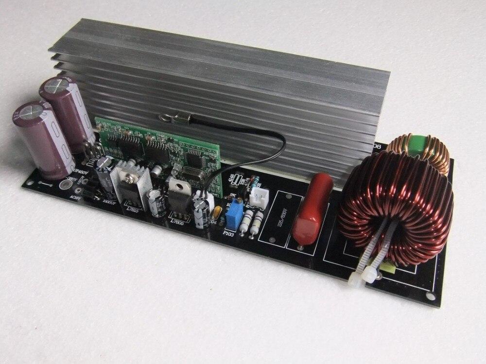 Placa de potencia del inversor de onda sinusoidal pura de 3000 W, tablero amplificador de onda sinusoidal posterior, tablero terminado con disipador térmico