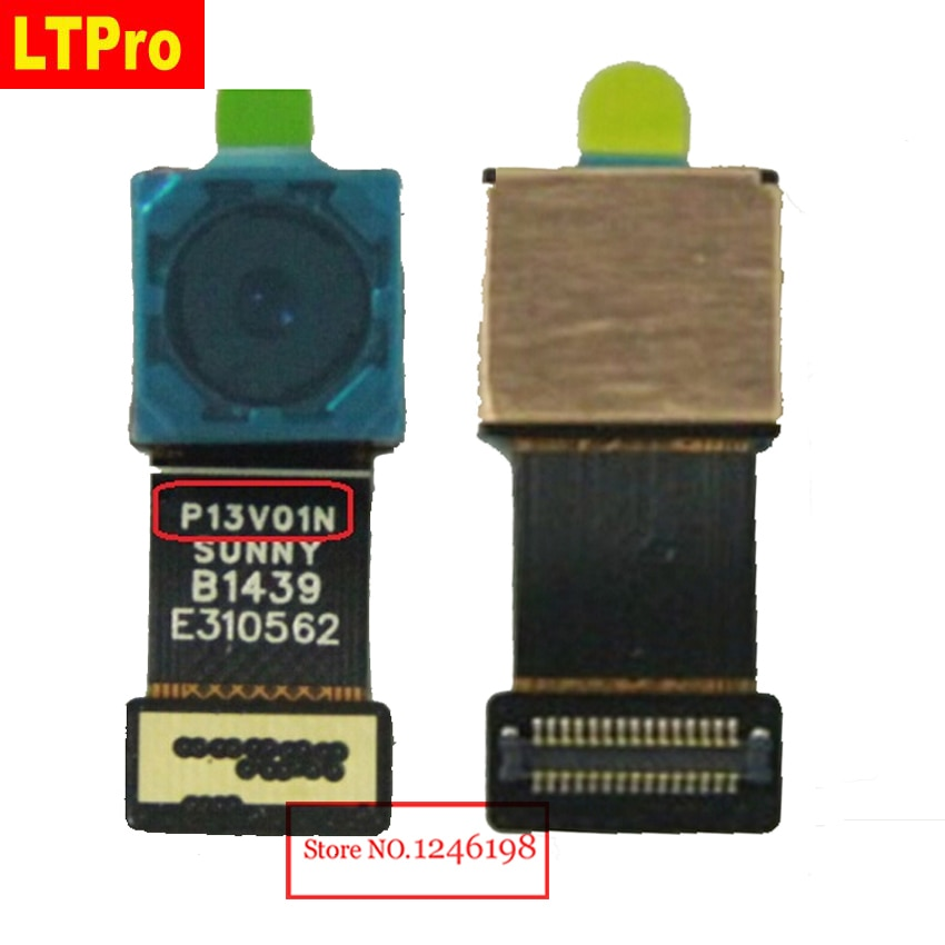 Cámara trasera de trabajo de calidad superior LTPro para Lenovo S90 S90-T S90-U cámara trasera con cable flexible para teléfono móvil partes