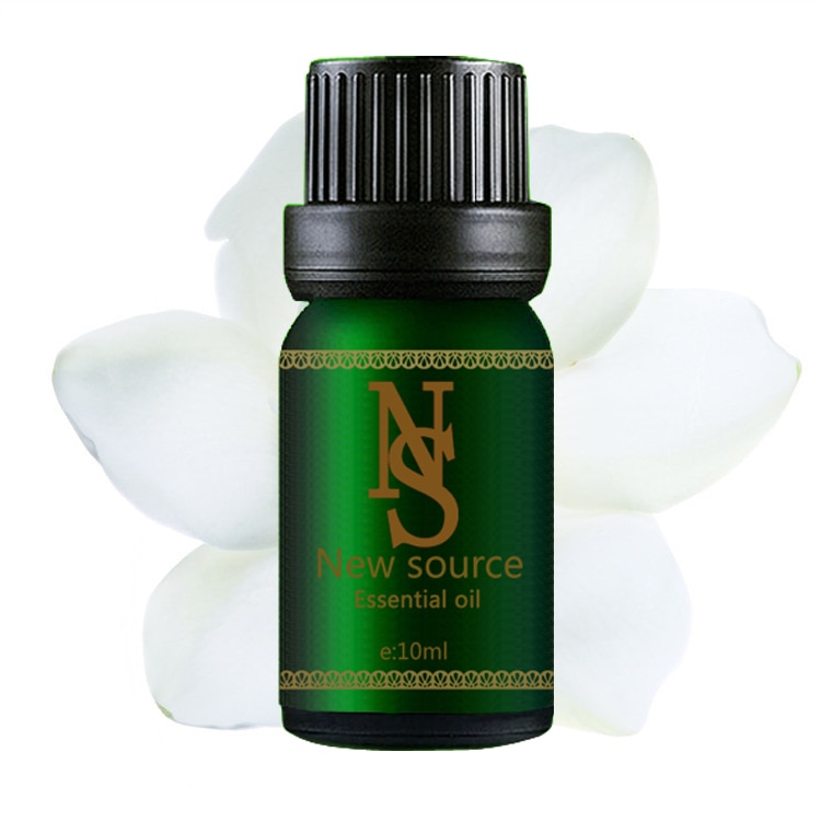 100% pure plant essential oils Gardenia oil 10ml Germicidal Clearing heat Purging fire Aromatherapy