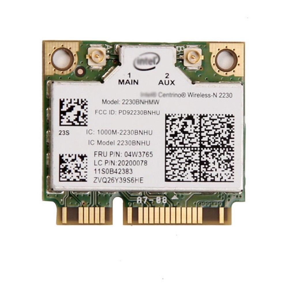 Intel 2230 2230BNHMW 300Mbps Wifi Bluetooth 4,0 Mini PCIe tarjeta wifi 04W3765 para Y400 Y500 Y410P Y430P Y510P E330 E430 V480 V580