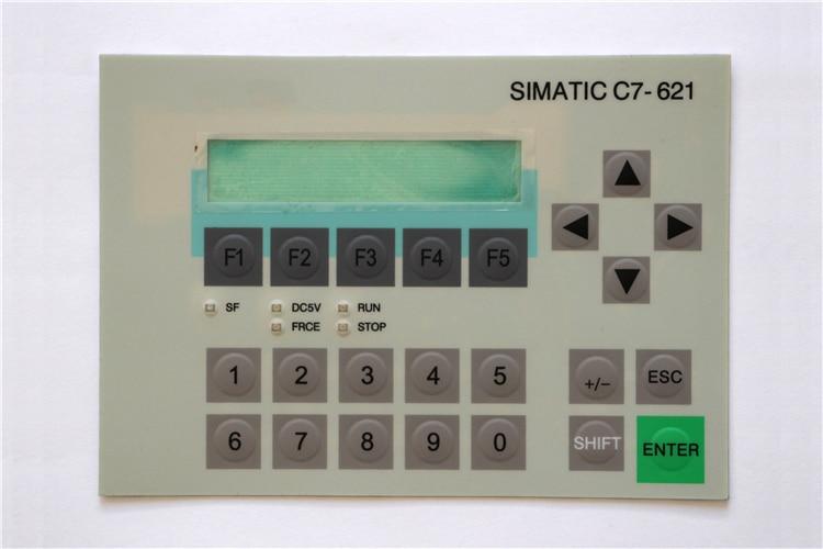6ES7621-1AD02-0AE3 6ES7 621-1AD02-0AE3 غشاء لوحة المفاتيح ل SIMATIC C7-621 إصلاح ، دينا في المخزون