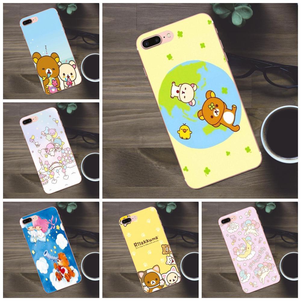 Dibujo TPU japonés Tokidoki todos adhesivo de estrellas para Apple iPhone 4 4S 5 5C SE 6 6S 7 8 Plus X Galaxy A3 A5 J1 J2 J3 J5 J7 2017