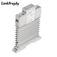 tra48d40m 5pcs intelligent automation integrated ssr relay 3v 5v 12v 24v dc input din rail solid state relay heat sink 40a