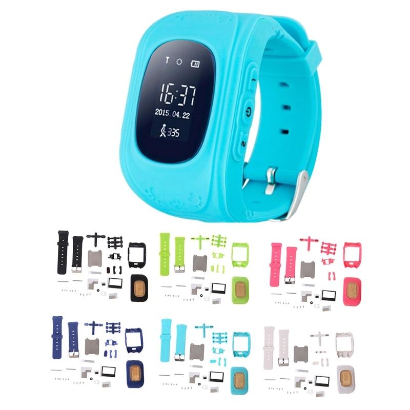 1 Juego de relojes inteligentes de repuesto para niños Reparación de accesorios para reloj Q50 para niños