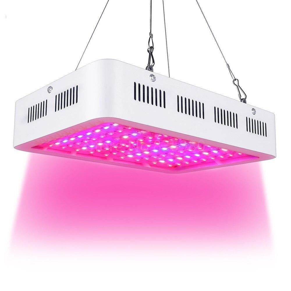 Melhor diodo emissor de luz cresce a luz 1000 w duplo chip espectro completo para aquario hidropônico planta flor led cresce a luz alto rendimento