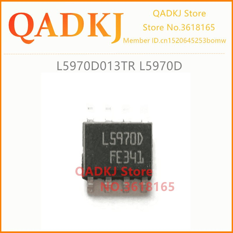 L5970D013TR L5970D L5970D013 & P2103HVG P2103 NOVO & Original Frete Grátis