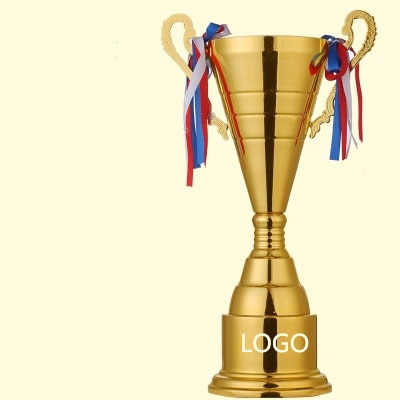 Gran oferta, premio de fútbol Deportivo, Copas de trofeo, copa de Metal plateado dorado, trofeo deportivo, trofeos, medallas de premio personalizado, 40cm de altura
