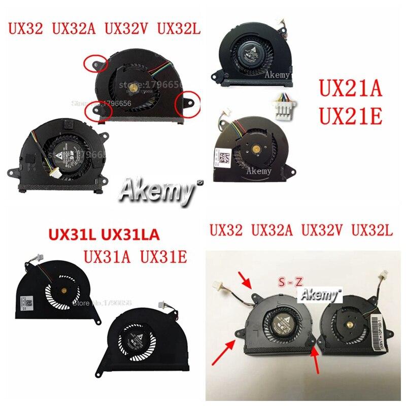 Для Asus ZENBOOK UX32 UX32A UX32VD UX32V UX32LA UX32LN UX32L UX31E UX31A UX31L UX21E UX21A VGA охлаждающий вентилятор для процессора