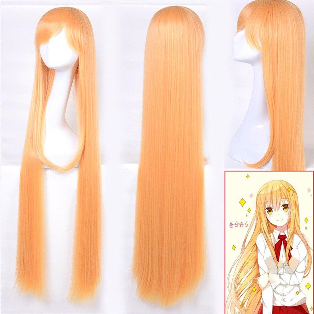 ¡Anime Himouto! Umaru-chan peluca Cosplay disfraz Umaru doma mujeres pelo sintético largo Halloween fiesta de rol pelucas