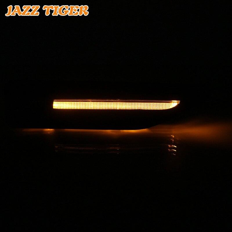 JAZZ TIGER 2PCS LED Turn Signal Light For Kia Rio K2 2011 2012 2013 2014 2015 2016 Car Fender Light 12V Waterproof Side Lamp