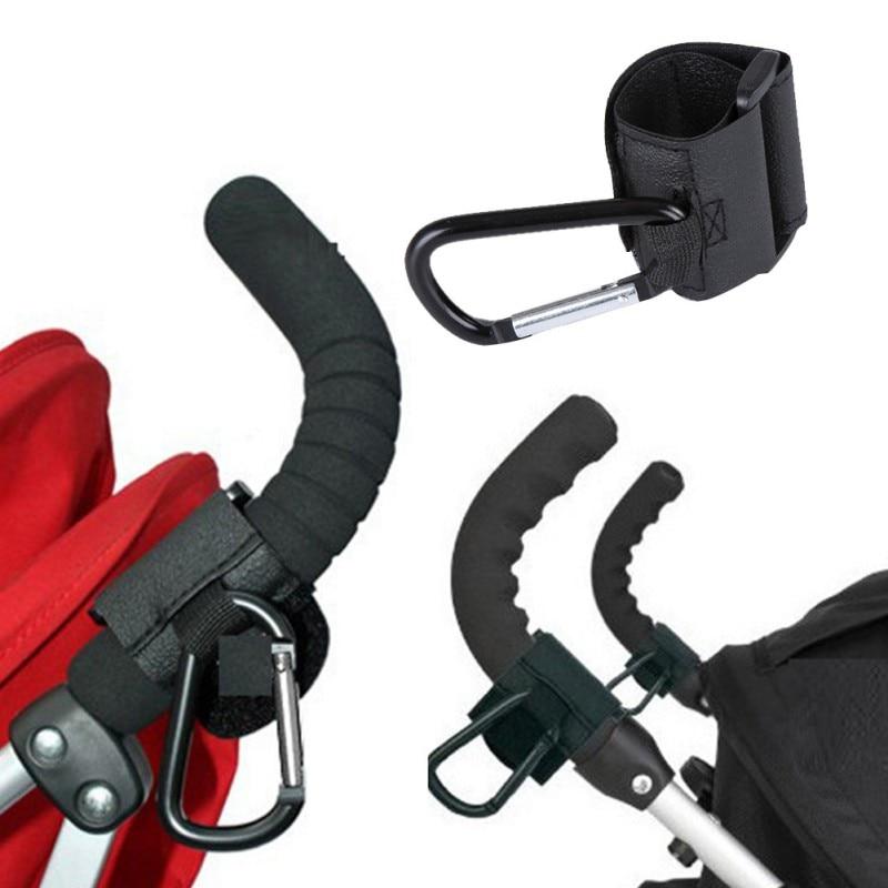 Gran oferta accesorios de cochecito de bebé cochecito de los ganchos para silla de bebé cochecito silla de bebé gancho