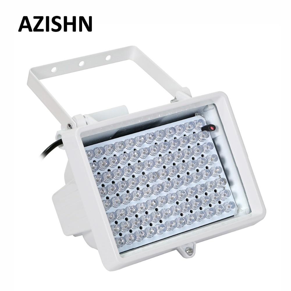 AZISHN CCTV المصابيح CCTV 96 قطعة IR المصابيح CCTV ملء ضوء المنور مصباح IP66 850nm للماء للرؤية الليلية للكاميرا CCTV