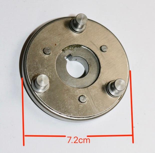 Diameter:72mm  Electric Vehicle Motor Gear Clutch