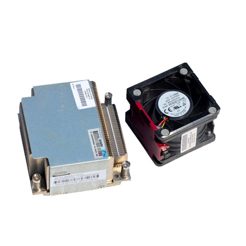 Ventilador de servidor DL380e G8 CPU, kit de refrigeración, disipador térmico 663673-001 677090-001, ventilador 654577-001, Kit de actualización de servidor, ventilador + disipador térmico