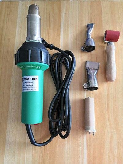 Soldador SWT-NS1600S de plástico para soldar polipropileno HDPE con elemento calefactor importado