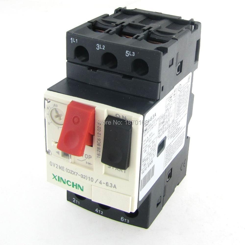 GV2-ME 25-32A 3P полюс тепловой магнитной защиты двигателя автоматический выключатель MPCB