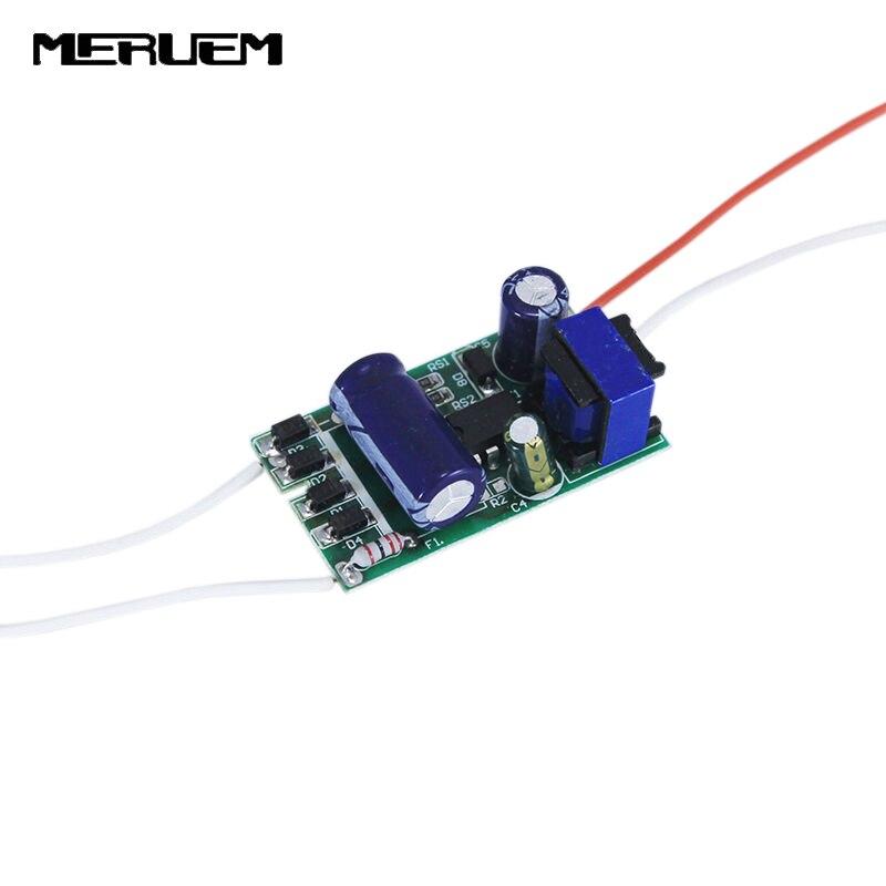 18-36*1W Controlador Led BP2836D Chip de salida: DC54-130V 300mA, 18 W-36 W transformador de iluminación AC200-265V fuente de alimentación 6 unids/lote