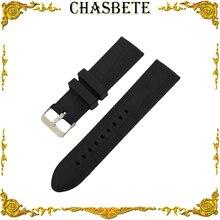 20 мм 22 мм 23 мм 24 мм силиконовый резиновый ремешок для часов для Patek philpe Blancpain полимерный ремешок на запястье ремешок браслет черный + булавка