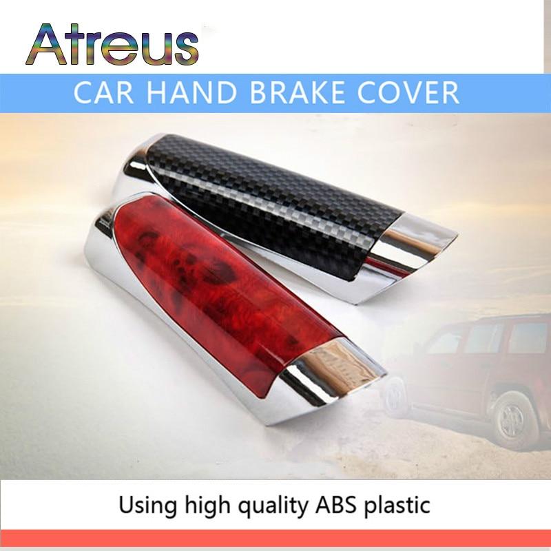 Atreus Car Handbrake Protector Cover Decoration For Fiat 500 Opel Insignia Suzuki Swift Sx4 Hyundai Ix35 Creta Ix25 Nissan Juke
