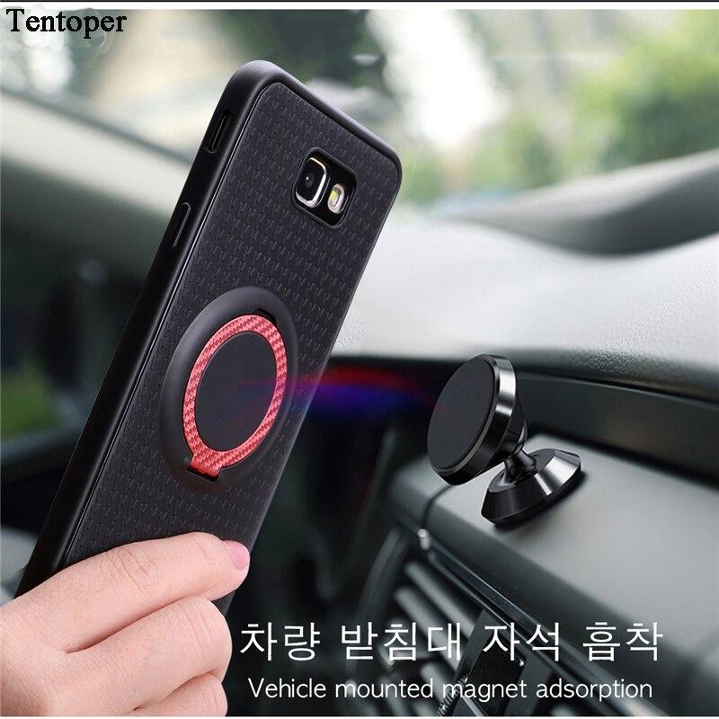 Для Samsung S9 S8 Plus A5 A3 A7 2017 J520 J7 автомобильный держатель с магнитной присоской Автомобильный держатель для телефона чехол для Huawei Honor 6X