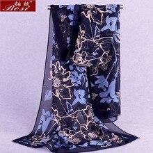 Écharpe en mousseline de soie châle schal foulards poncho femmes scarfshijab hiver écharpes dames de luxe bandana dames bohème ponchos et capes