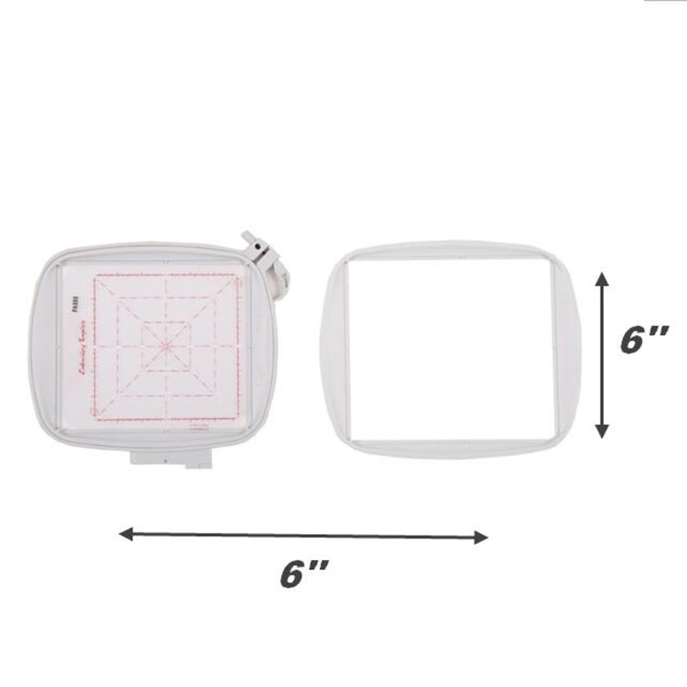 Aro Bastidor Para Bordado Pfaff Aro de bordado de tecnología de costura para marcos de máquina de bordado de Pfaff para el rendimiento de visión creativa Marco de bordado PA889