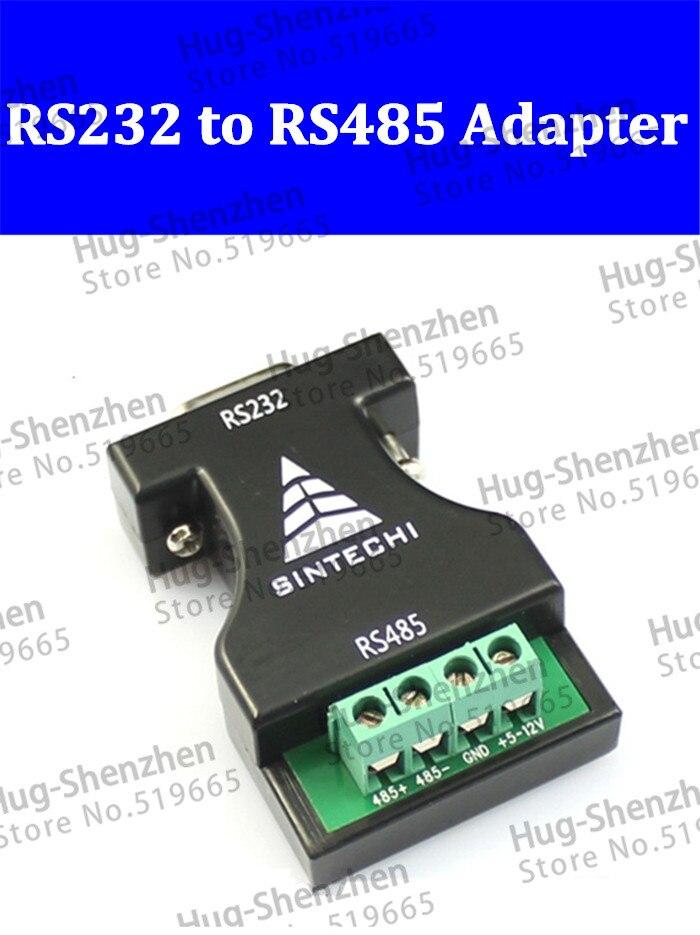 10 шт. RS232 к RS485 адаптер переключатель 232 поворота 485 адаптер 485 Коммуникационный адаптер конвертер