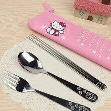 Vaisselle de table en acier inoxydable   Ustensiles de cuisine, ustensiles de cuisine de dessin animé bols ou cadeaux