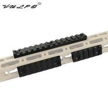 VULPO Hunting Airsoft Tactical Picatinny Weaver Rail Mount Keymod LVOA Scope Mount For Keymod LVOA Handguard