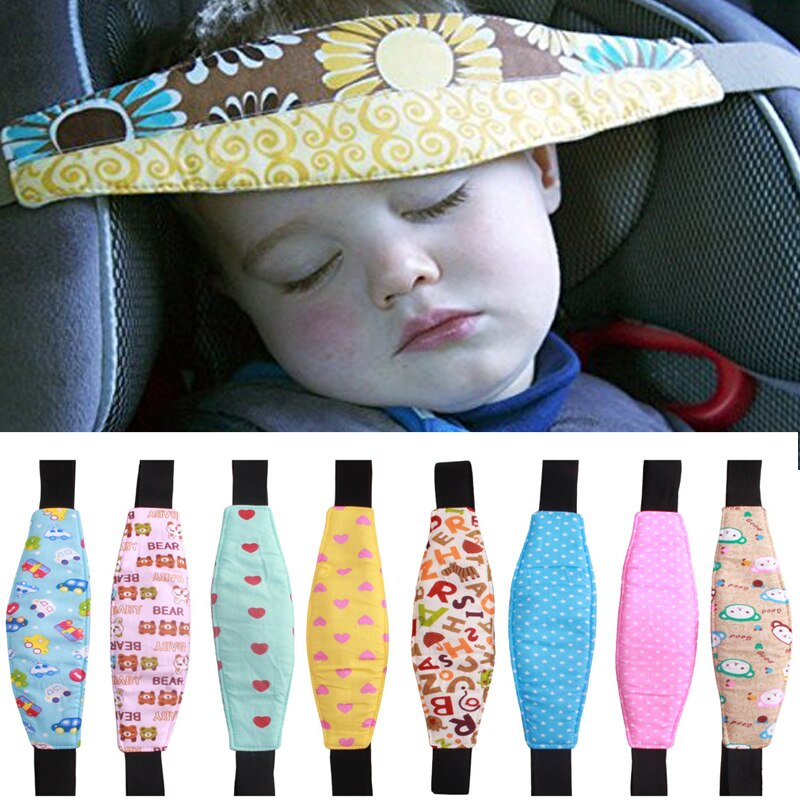 Infants And Baby Head Support Pram Stroller Car Safety Seat Sleep Positioner Fastening Belt Adjustab