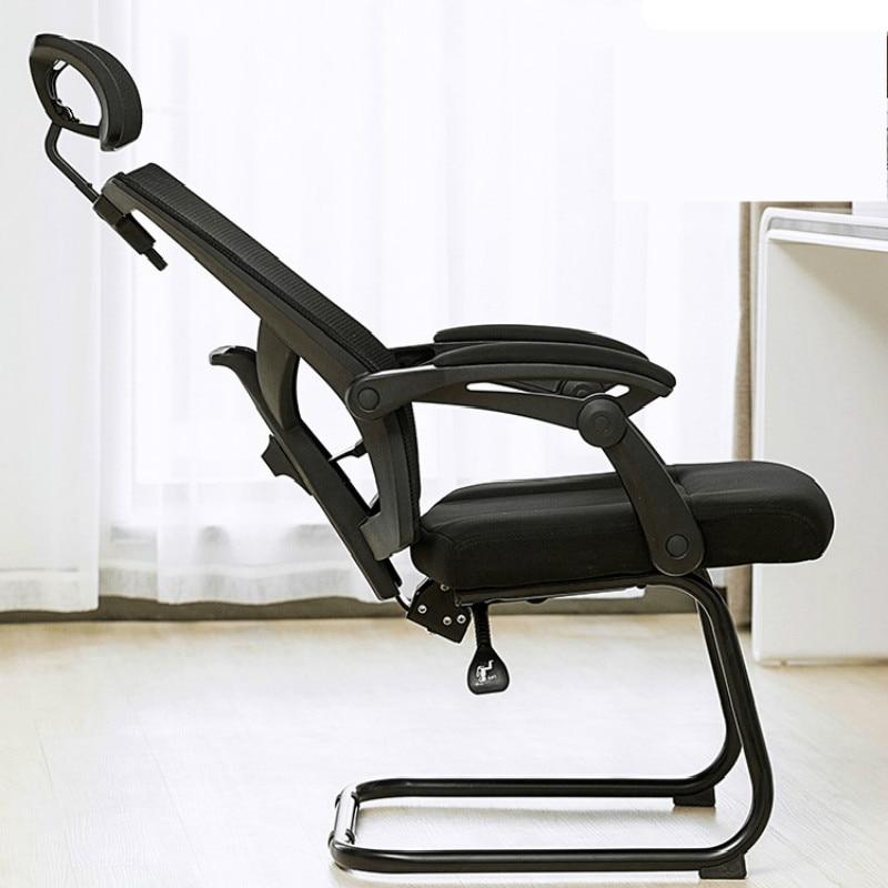 Cadeira reclinável, cadeira para escritório, casa, arco, pés, reclinável, gamer, malha, conferência, silla, escritório, jogos