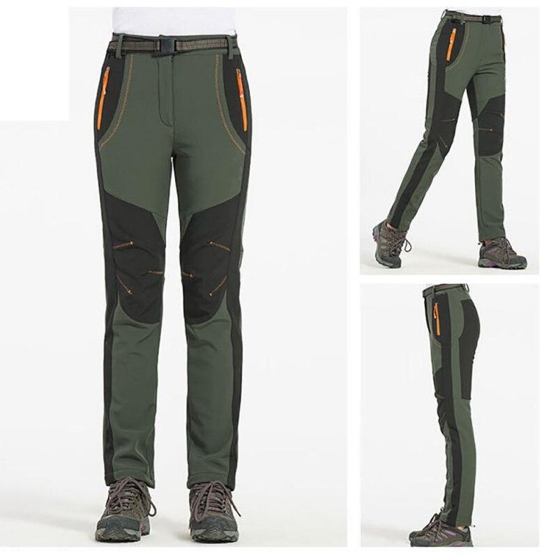 Уличные мужские ветрозащитные водонепроницаемые флисовые зимние штаны для