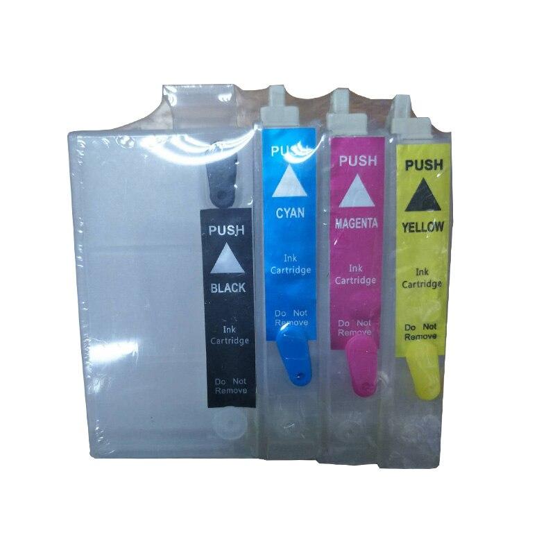 252 252XL recargable vacía cartucho de tinta para Epson WF-3620 WF-3640 WF-5190 WF-5620 WF-5690 WF-7110 WF-7610 WF-7620