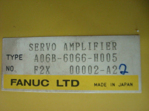 FANUC servo drive amplifier CNC Control amp A06B-6066-H005