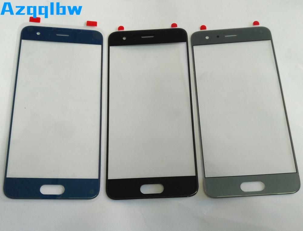 Azqqblw 10 unids/lote para Huawei honor 9 Panel exterior dorado/azul/gris/negro