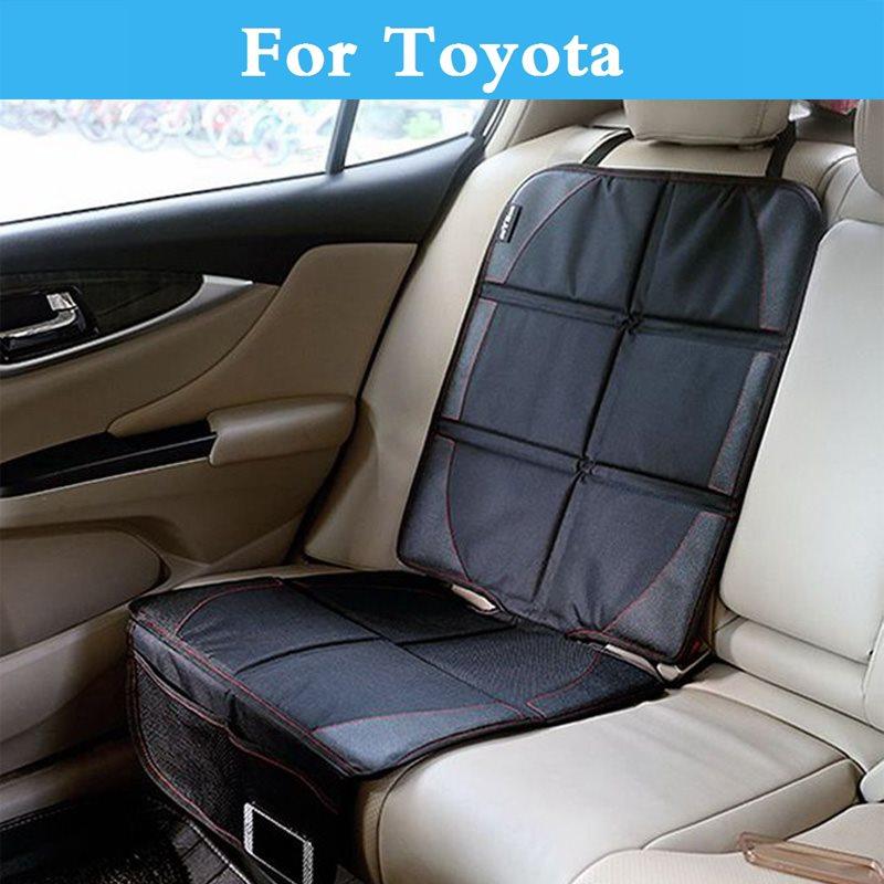 New Luxury Car Seat Protector Mat Cover Children Baby Protector for Toyota Prius Prius c Probox Progres Pronard RAV 4 Rush Sai