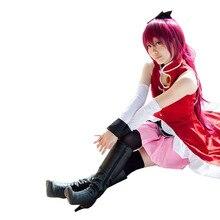 2017 Anime Puella Magi Madoka Magica Sakura Kyoko Costume de Cosplay