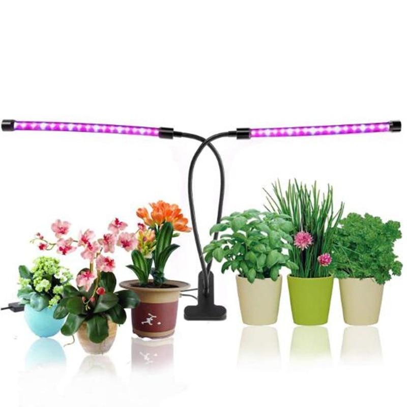 Luz de cultivo profesional 18w 36w bombillas LED con interfaz USB PC luz impermeable para cultivo de plantas Luz de sincronización ajustable