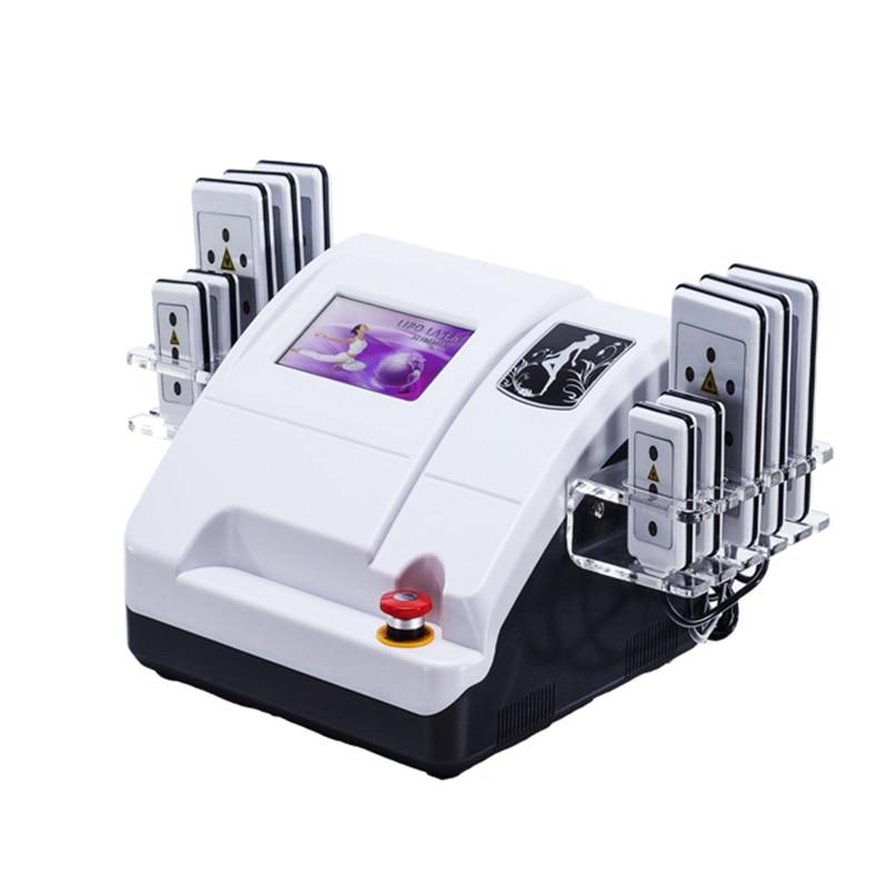آلة تنحيف, 10 قطع ليزر ليبو محمولة للبيع آلة تنحيف بالليزر مع سعر المصنع منخفض