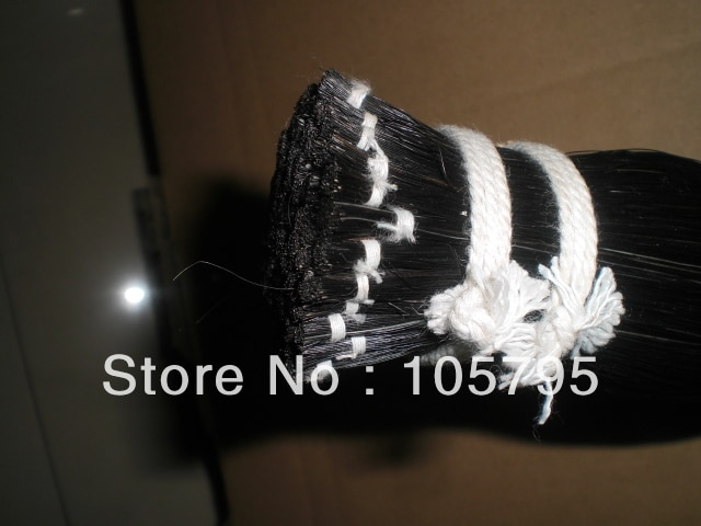 100 hanks high quality Black violin bow hair(6ghank) 32 inches
