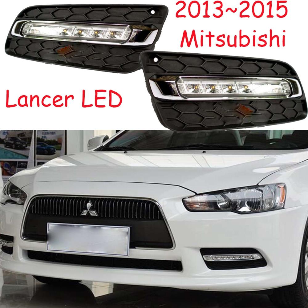 Luz LED,2013 ~ 2015 Mitsubishe Lancer luz de día, luz antiniebla Lancer, linterna, Endeavor,ASX,3000GT, exposición, Eclipse,verada