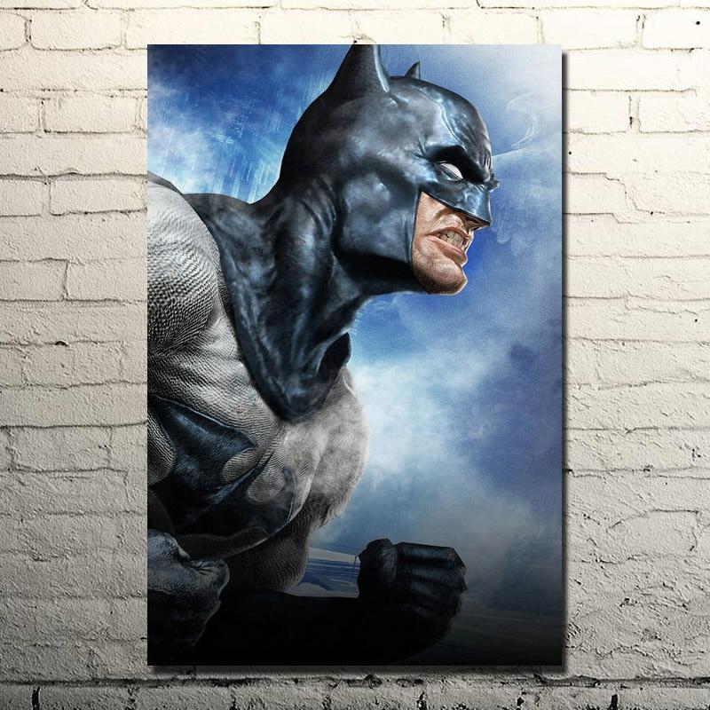 POPIGIST-Knight Batman Arkham Origins Seda Del Arte Del Cartel de Impresión Enorme 13x20 24x36 Dormitorio Decoración Vedio juego Deathstroke Fotos 005