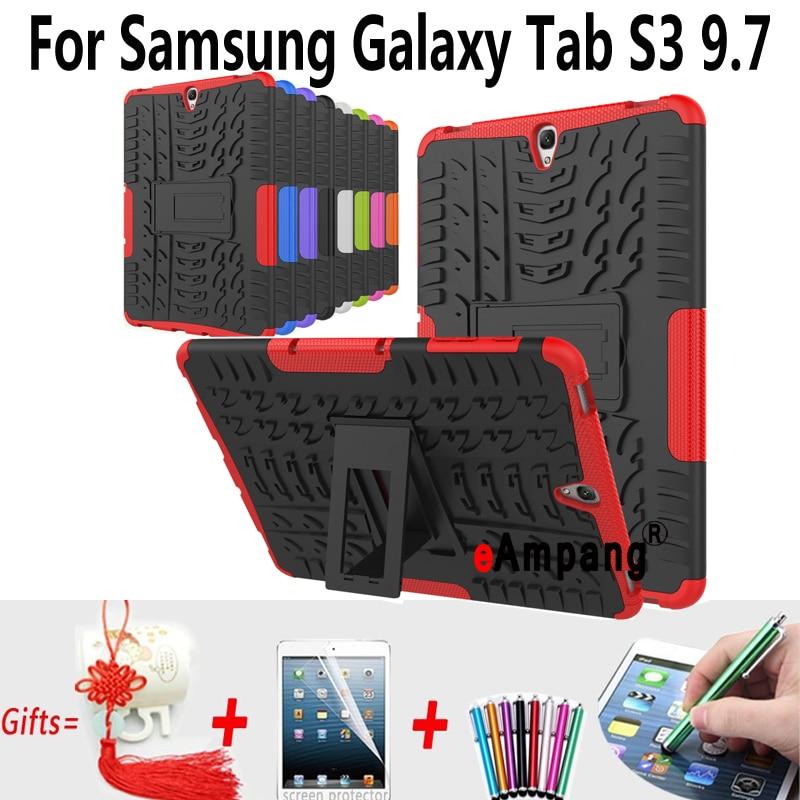 Чехол для планшета Samsung Galaxy Tab S3 9,7 T820 T825, силиконовый ударопрочный чехол-накладка для Samsung Tab S3 9,7