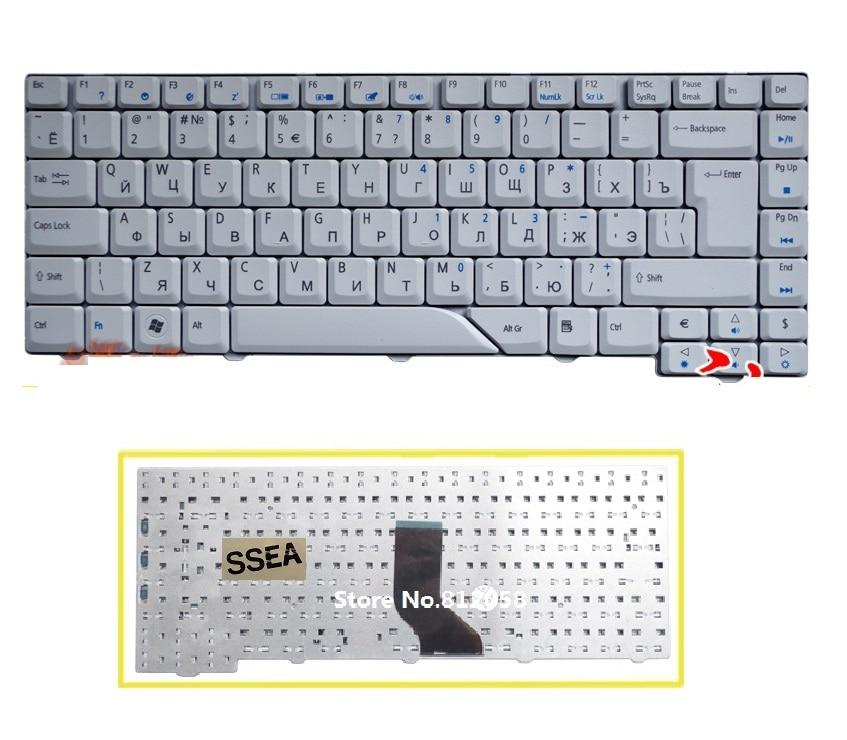 SSEA nuevo teclado de Rusia para Acer Aspire 4210, 4220, 4520, 4710,...