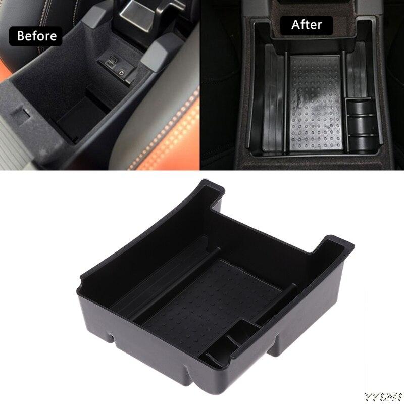Accesorios para coche, reposabrazos negro para coche, almacenamiento, estilismo para coches Volvo XC60 S60 S60L V60